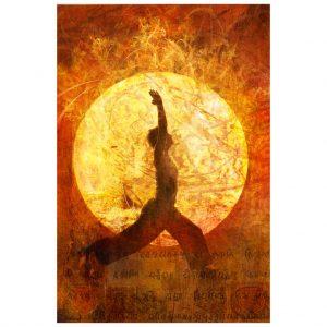 shutterstock yoga warrior